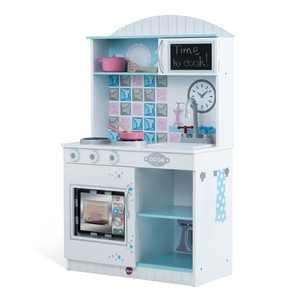 Plum Play Snowdrop Interactive Wooden Play Kitchen