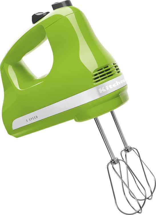 KitchenAid - KHM512GA 5-Speed Hand Mixer - Green Apple
