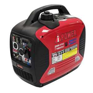 A-iPower SUA2000iD 2000 Watt Dual Fuel Portable Inverter Generator Quiet Operation, Lightweight