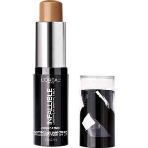 L'Oreal Paris Infallible Longwear Foundation Shaping Stick, Cocoa, 0.32 oz.