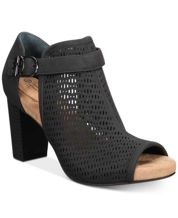 Jaccee Memory-Foam Perforated Shooties, Created for Macy's