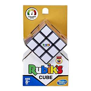 Rubik's Cube 3 X 3 Puzzle Game, Toy for Kids Ages 8 and up, for 1 Player