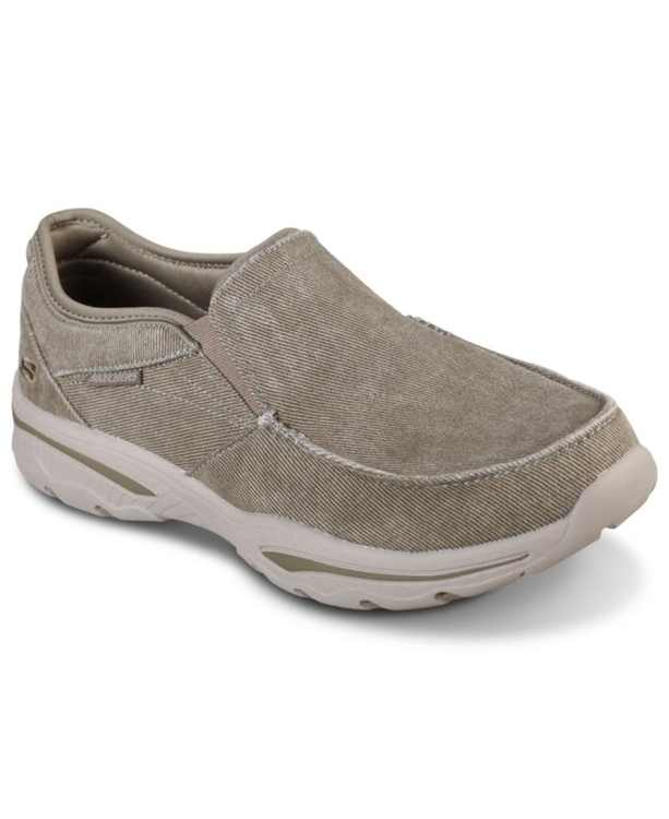Men's Relaxed Fit: Creston - Moseco Slip-On Casual Sneakers from Finish Line
