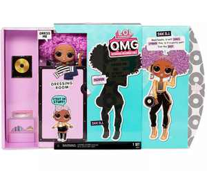 LOL Surprise OMG 24K D.J. Fashion Doll with 20 Surprises including Outfit, Accessories and Playset Packaging - Toys for Girls Ages 4 5 6+