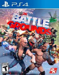 WWE 2K Battlegrounds,2K, PlayStation 4, 710425575969