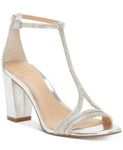 INC Keyla T-strap Evening Sandal, Created for Macy's
