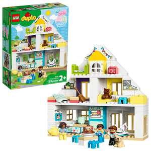 LEGO DUPLO Town Modular Playhouse 10929 Building Set for Toddlers (129 Pieces)