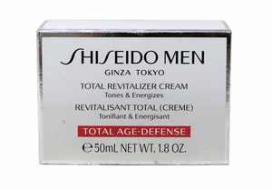 Shiseido Men Total Revitalizer Cream, Face Moisturizer for Men, 1.8 Oz