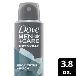 Dove Men+Care Antiperspirant Dry Spray Eucalyptus + Birch 3.8 OZ
