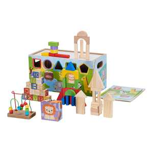 Spark. Create. Imagine. 10-in-1 Activity Trunk, 72 Pieces