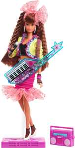 Barbie Rewind 80s Edition Dolls' Night Out Doll-Themed Doll, 11.5-In Brunette
