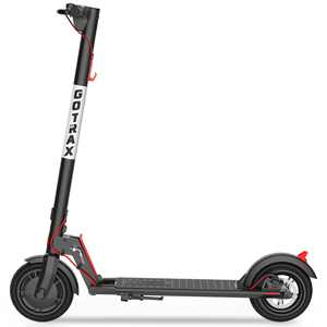 GOTRAX Commuting Folding Electric Scooter - 8.5 In. Air Filled Tires - 15.5MPH and up to 12 Mile Range