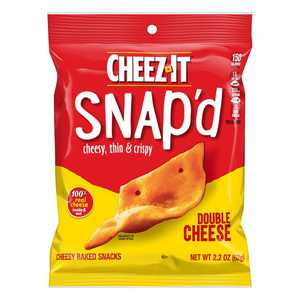 Cheez-It Snap'd Double Cheese Crackers, 2.2 oz