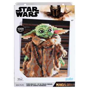 Star Wars The Mandalorian/The Child Fuse Bead Kit by Perler, 4004 Pieces