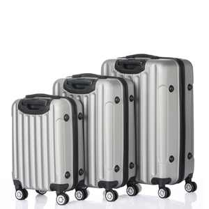 UBesGoo Luggage  Suitcase PC+ABS 3 Piece Set with Lock Spinner 20in24in28in