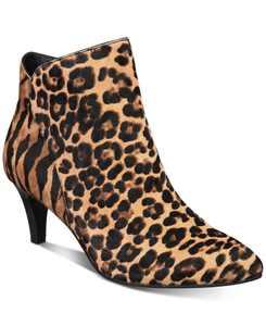 Women's Harpper Kitten-Heel Booties, Created for Macy's