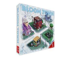 Bloom Town Strategy Board Game by Sidekick Games   Allow your town to prosper and grow in Bloom Town