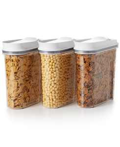 Good Grips 3-Pc. Pop Cereal Dispenser Set