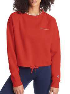 Champion Women's Campus Fleece Cropped Crew Sweatshirt