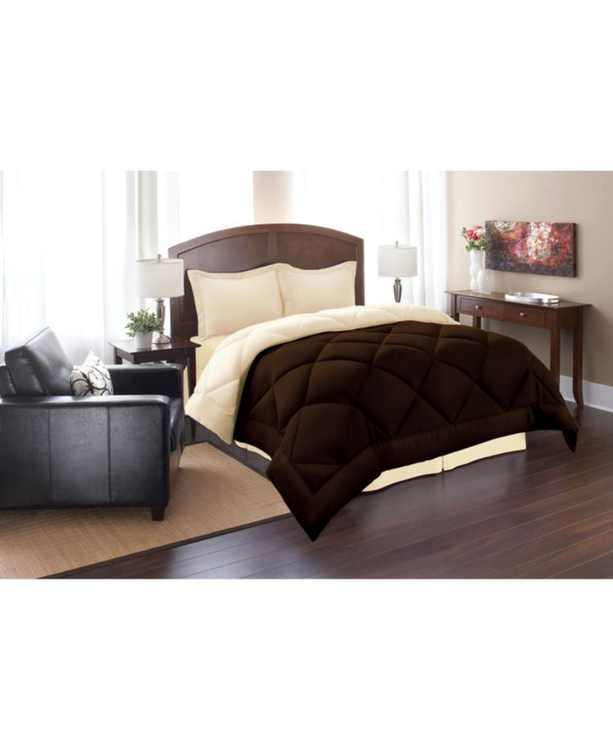 All - Season Down Alternative Luxurious Reversible 3-Piece Comforter Set King/California King