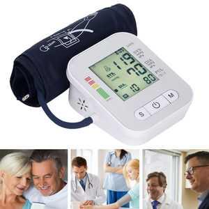 HOTBEST Sphygmomanometer Blood Pressure Pulse Monitors Tonometer Portable Health Care