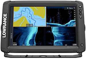 Lowrance Elite-9 Ti2 US Inland FishFinder, Active Imaging 3-in-1 Transducer