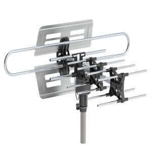 Ktaxon 150 Miles Range TV Antenna Amplified Digital UV Dual Frequency 45-860MHz