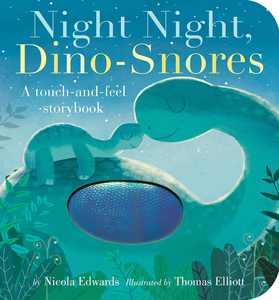 Night Night Dino Snores (Board Book)