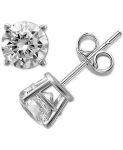 Diamond Stud Earrings (1/4 ct. t.w.) in 14k Gold or White Gold