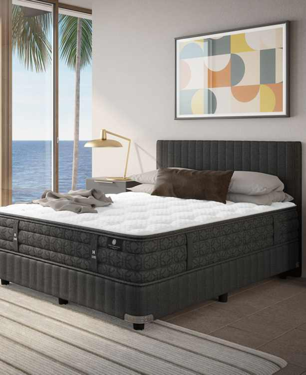 """by Aireloom Holland Maid 13.5"""" Cushion Firm Mattress Set- King, Split Box Spring- Created for Macy's"""