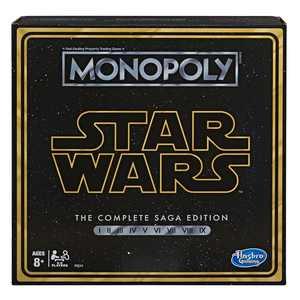 Star Wars Monopoly: Complete Saga Edition Board Game