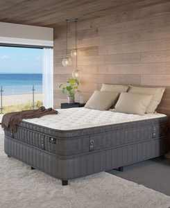 """by Aireloom Handmade 14.5"""" Luxury Plush Euro Top Mattress Set- Twin XL, Created for Macy's"""
