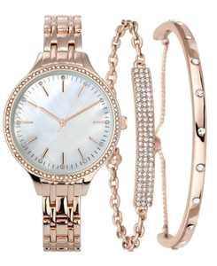 Women's Bracelet Watch Set 36mm, Created for Macy's