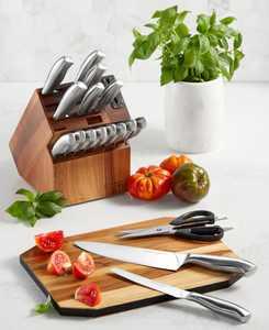 Insignia 18-Pc. Cutlery Block Set
