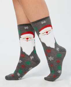 Women's Holiday Crew Socks, Created for Macy's