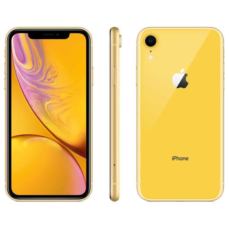 Straight Talk Apple iPhone XR w/64GB Prepaid Smartphone, Yellow