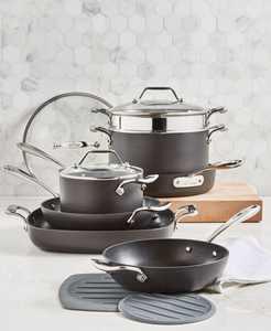 Essentials Nonstick 10-Pc. Cookware Set