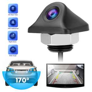 Reverse Backup Camera, TSV 170 Degrees Wide Angle Vehicle Rear View Reverse Cam, Waterproof Car Rear View Camera with Night Vision, HD Reversing Camera, Parking Camera Monitor for 12V Car Truck SUV RV