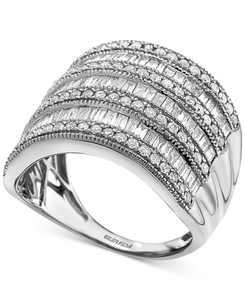 EFFY Diamond Multi-Row Statement Ring (1-1/2 ct. t.w.) In 14k White Gold, 14K Gold Or 14K Rose Gold