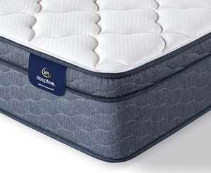 "Sleeptrue Malloy 12.5"" Plush Euro Top Mattress- Full"