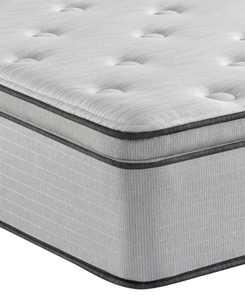 """BR800 13.5"""" Plush Pillow Top Mattress- Queen"""