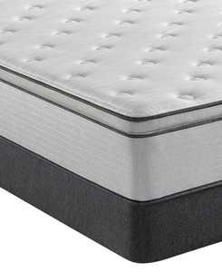 "BR800 13.5"" Plush Pillow Top Mattress Set- California King"