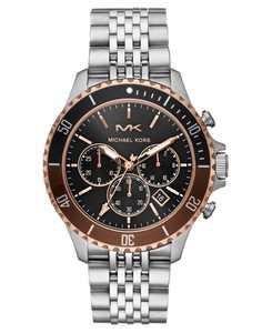 Men's Chronograph Bayville Stainless Steel Bracelet Watch 44mm