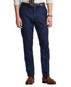 Men's Big & Tall Straight Fit Linen-Blend Pants