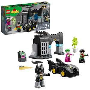 LEGO DUPLO Batman Batcave 10919 Action Figure Building Toy for Toddlers (33 Pieces)