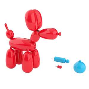 Squeakee the Balloon Dog - Makes Sound, Deflates, and Does Tricks!