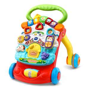 VTech Stroll and Discover Activity Walker, Toy Walker for Babies, Baby Toy
