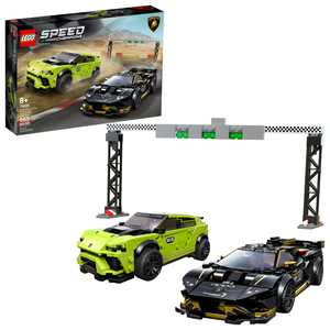 LEGO Speed Champions Lamborghini Urus ST-X & Huracán Super Trofeo EVO 76899 Building Kit