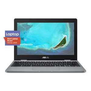 "ASUS C223NA Chromebook 11.6"" Intel Celeron N3350, 4GB RAM, 32GB eMMC, Gray, Chrome OS, C223NA-DH02"