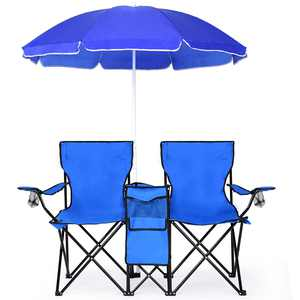 Costway Camping Chair, Blue